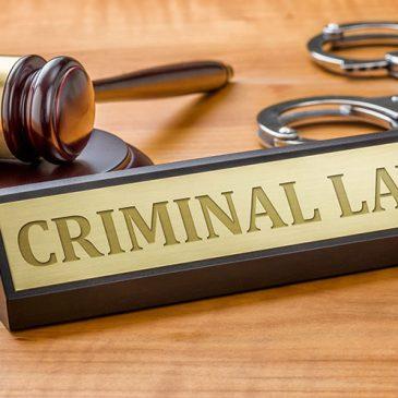 Criminal law amendment