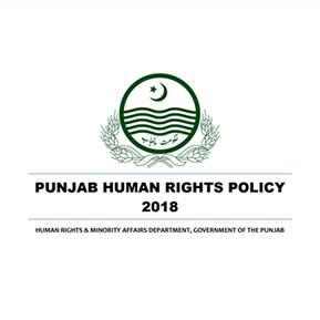 Punjab Human Rights Policy 2018