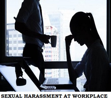 Code of Conduct for Protection Against Harassment of women at work places