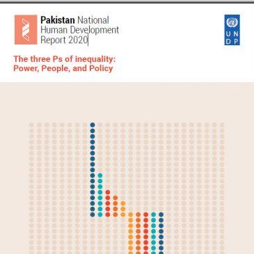 Pakistan National Human Development Report 2020