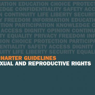 IPPF Charter Guidelines on Sexual And Reproductive Rights